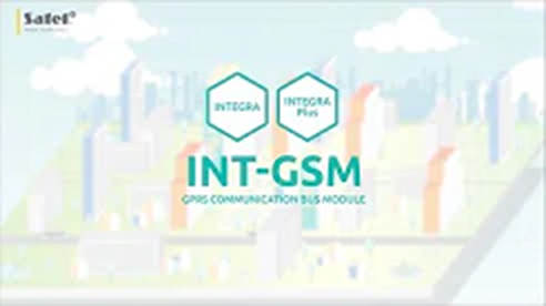 Moduł komunikacyjny INT-GSM